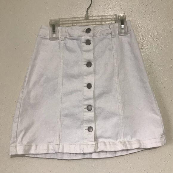 H&M Dresses & Skirts - H&M white denim skirt